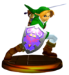 SSBM Link (Smash) Trophy Model.png