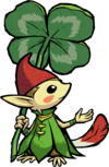 An example of a Forest Minish
