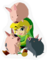 SSBB Link & Pigs Sticker Icon.png