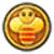 The sprite for the Bee Badge