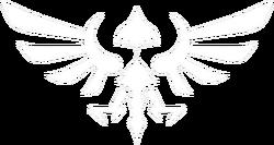 The Hylian symbol.