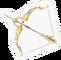 SSBB Hero's Bow Sticker Icon.png