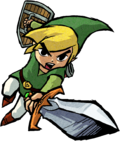 Artwork of Link in Four Swords Adventures