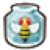The icon for a Bee in a Bottle in A Link Between Worlds