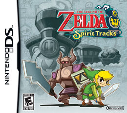 Spirit Tracks' box art.