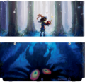 MM3D Skull Kid New 3DS Plate.png