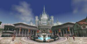 Castle Town Central Square